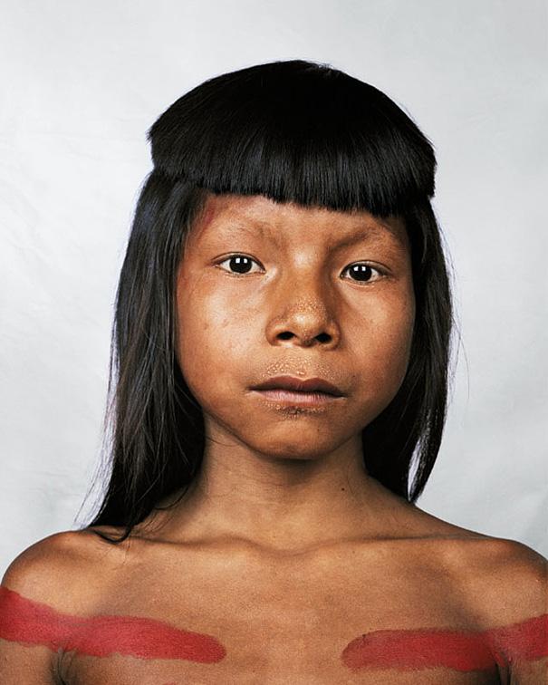 8-летняя Акошет, Амазония, Бразилия.