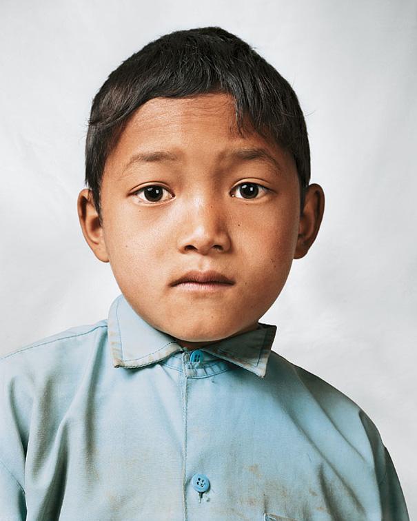 9-летний Бикрам, Непал.