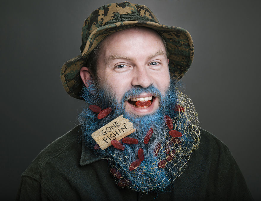 Июнь. Борода на рыбалку.