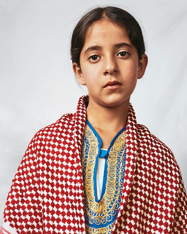 10-летняя Духа, Хеврон, Западный берег реки Иордан.