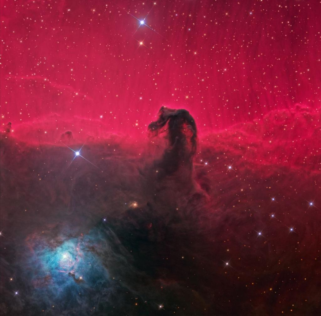 Самая популярная фотография туманности Конская Голова