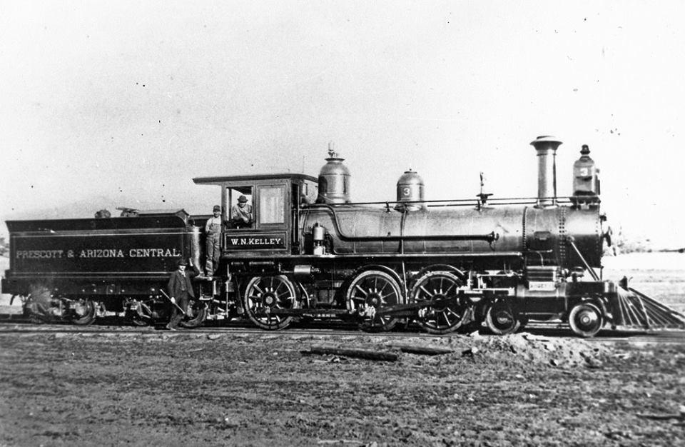 Prescott & Arizona № 3 в 1897 году