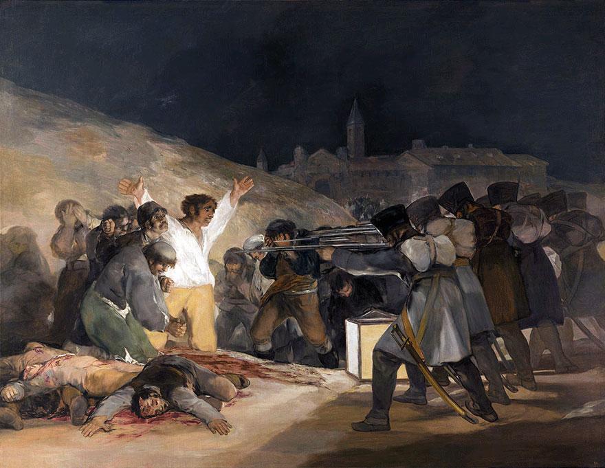 «Третье мая 1808 года в Мадриде» Франсиско Гойи