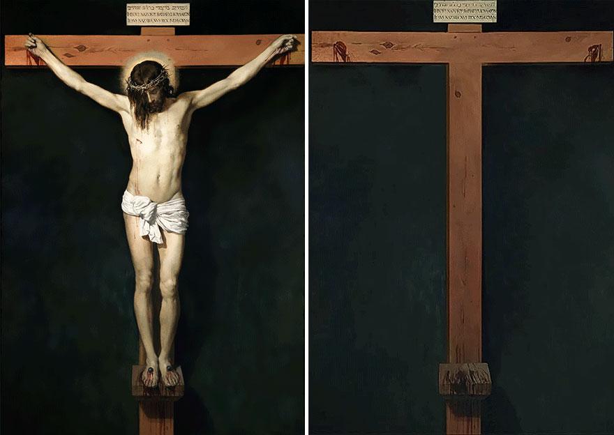 «Распятие Иисуса Христа» Диего Веласкеса