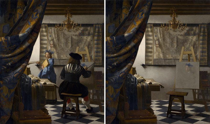 «Аллегория живописи» Яна Вермера Делфтского