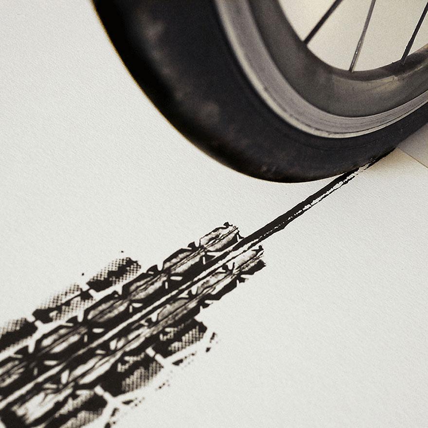 bicycle-tire-tracks-paintings-architectural-landmarks-thomas-yang-100copies-7