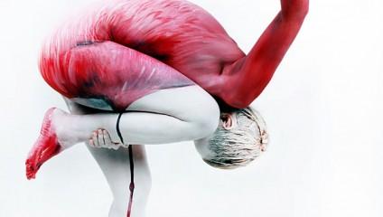 Гезине Марведель превращает людей в птиц