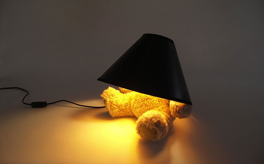 Светильник «Плюшевый мишка»