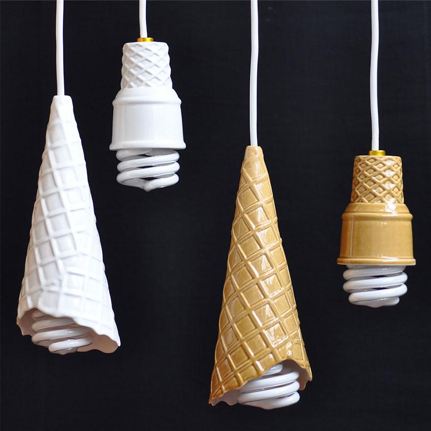 Светильники «Мороженое»