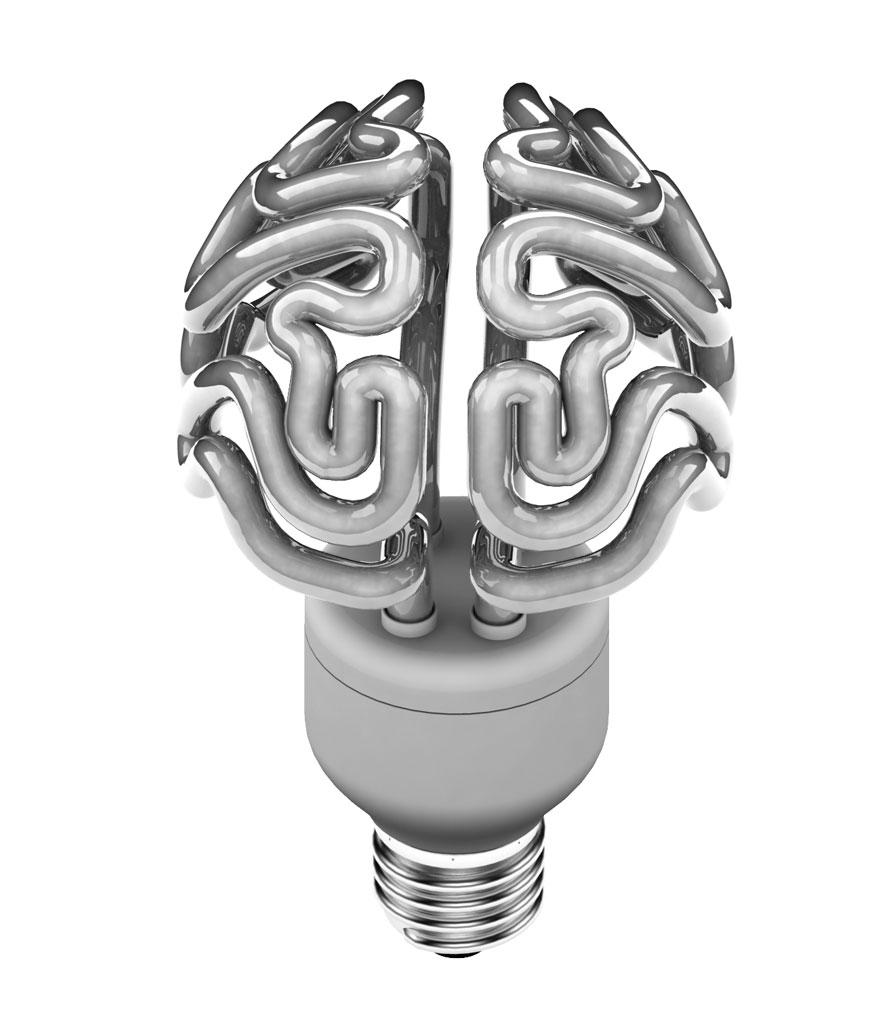 Светильник «Мозг»