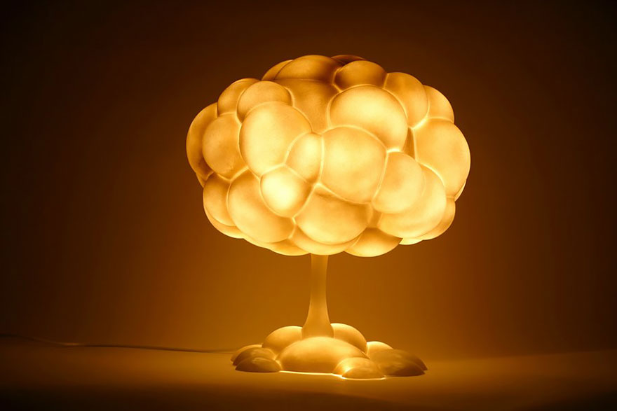 Светильник «Ядерный гриб»