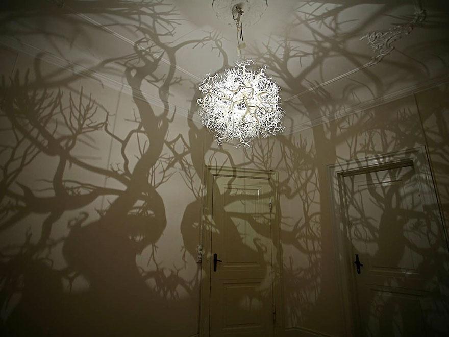 Светильник «Формы в природе»