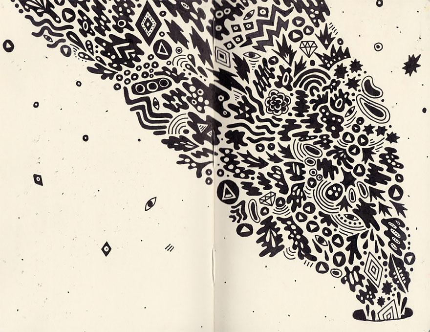 doodles-sketchbook-drawings-sophie-roach-141