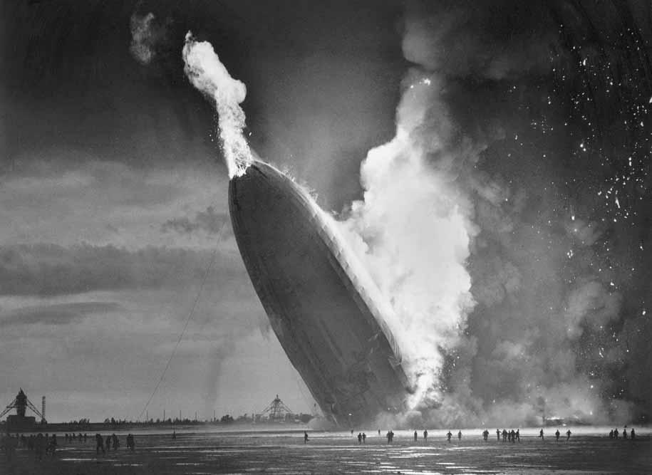 Крушение «Гинденбурга», 6 мая 1937 года
