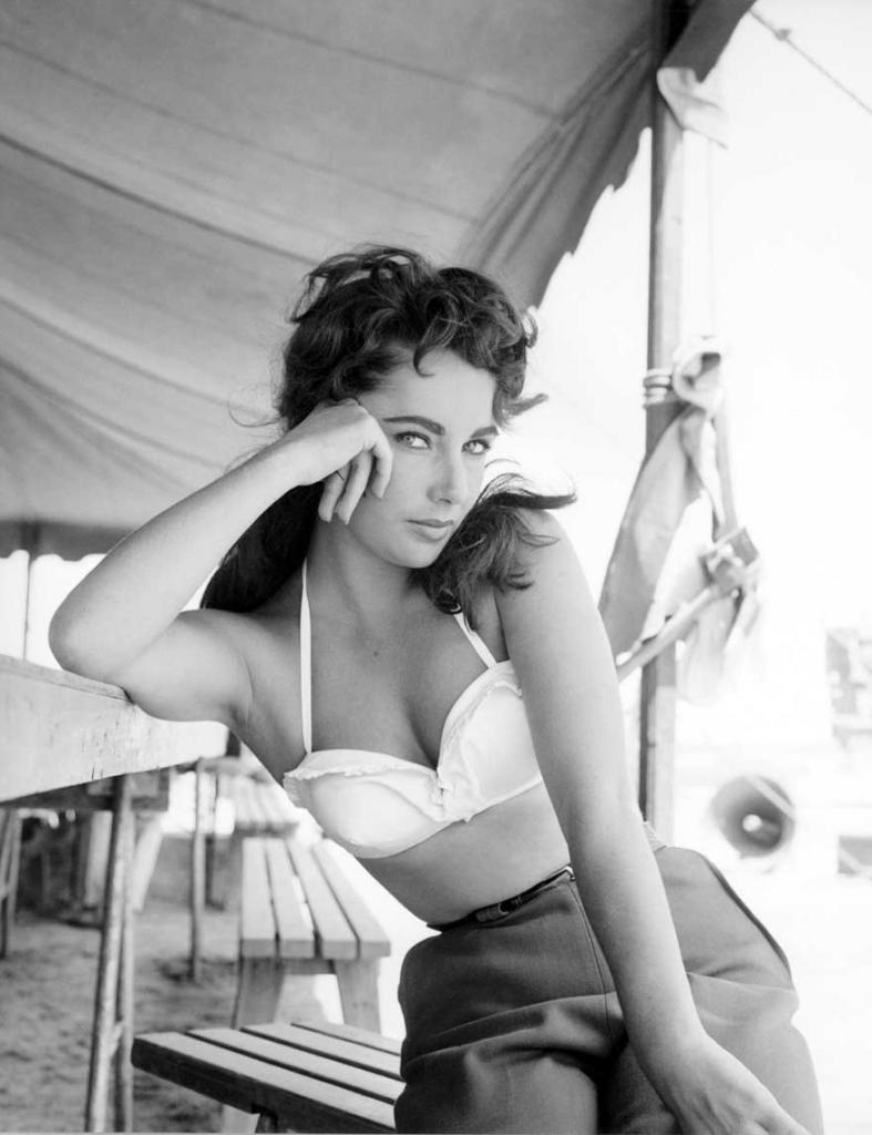 Элизабет Тэйлор. Фильм «Гигант», 1956 год.