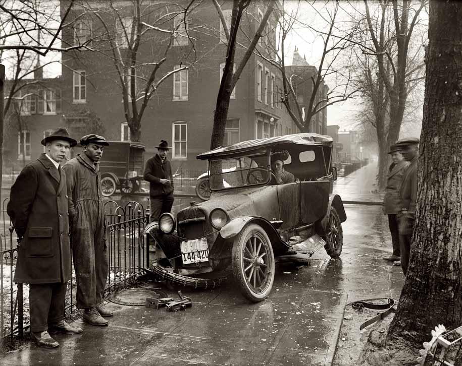 Авария в Вашингтоне, 1921 год