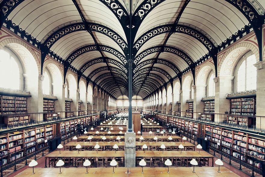 Библиотека св. Женевьевы, Париж