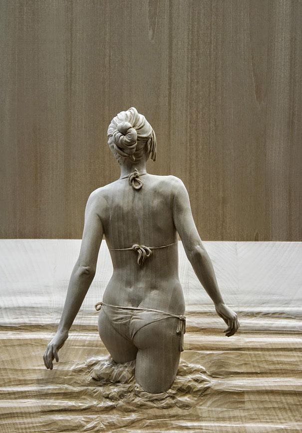 Поразительно реалистичные деревянные скульптуры Питера Демеца