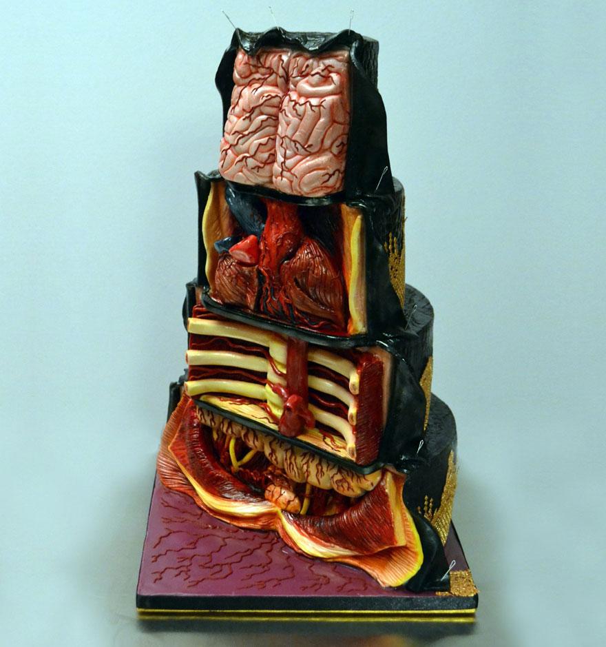 До ужаса реалистичные торты Аннабель де Веттен