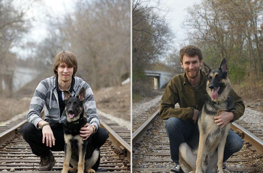 Разница в 4 года