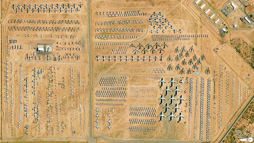 309-я аэрокосмическая группа обслуживания и восстановления в Таксоне, Аризона, США