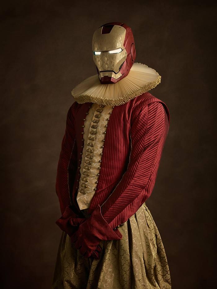 Как бы выглядели супергерои и злодеи, оказавшись в XVI веке