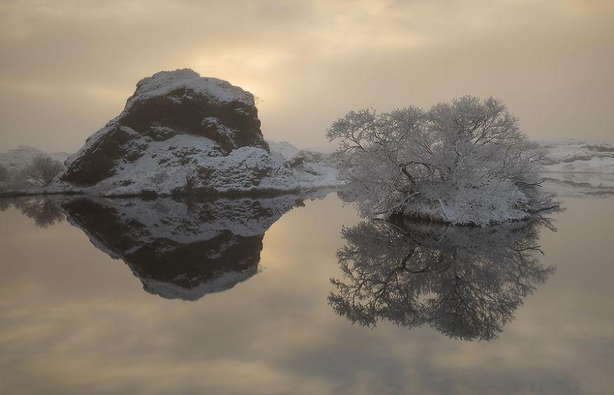 Озеро Миватн
