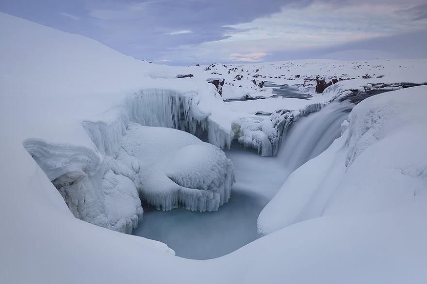 Водопад Храфнабьяргафосс