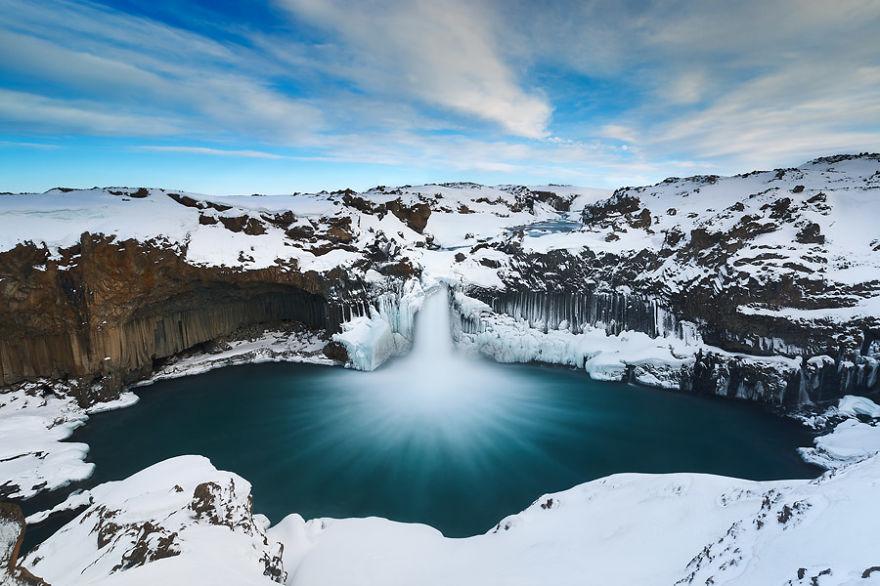 Водопад Алдейярфосс