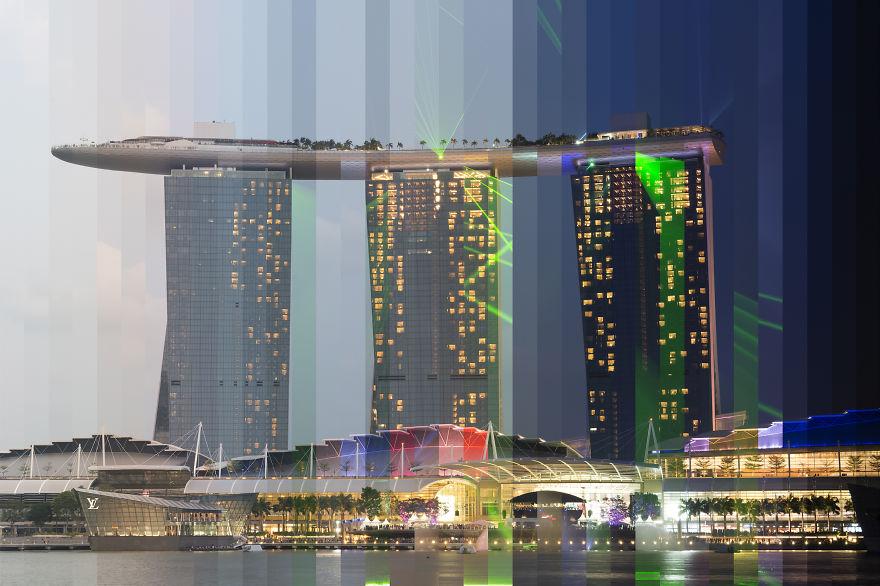 Гостиница и казино Marina Bay Sands, Сингапур