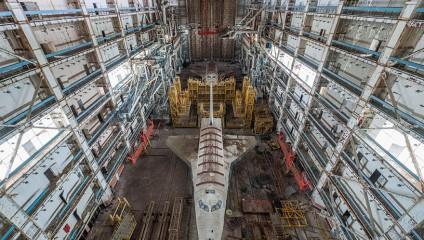 Заброшенные космические корабли космодрома «Байконур»