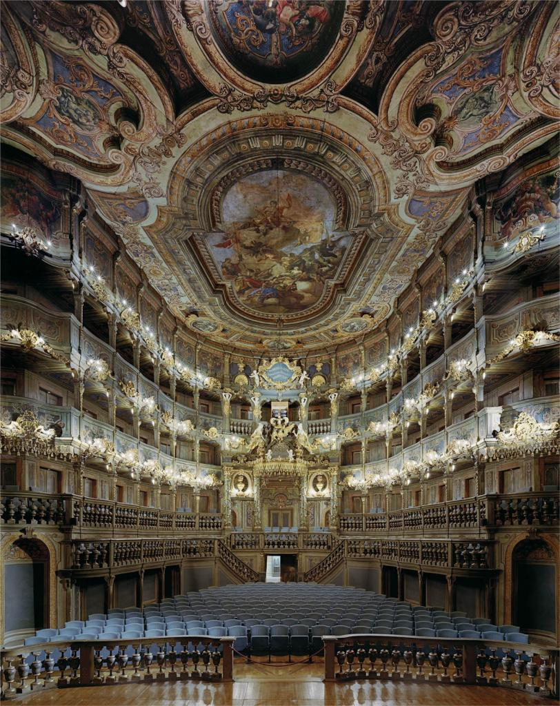 Маркграфский оперный театр в Байройте, Германия