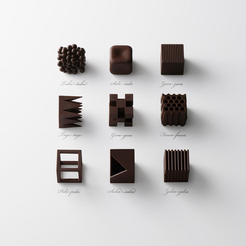 Текстуры, которые влияют на вкус одного и того же шоколада