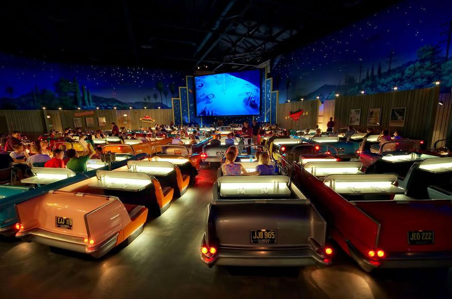 Кинотеатр Sci-Fi Dine-In, студия Диснея, Орландо, США