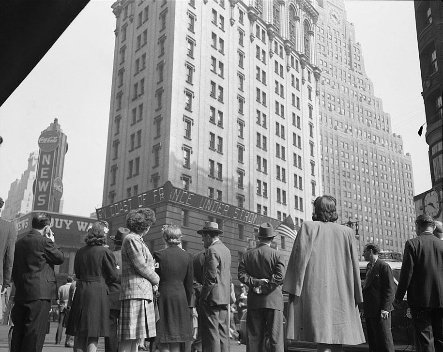 Таймс-сквер, День-Д, 1944 год