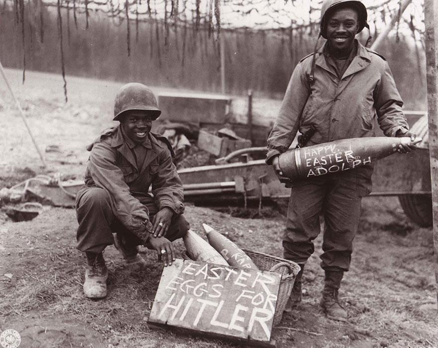 «Пасхальные яйца для Гитлера» 1944-1945 гг