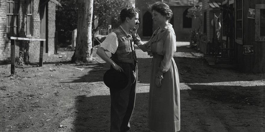 Встреча Хелен Келлер и Чарли Чаплина, 1919 год