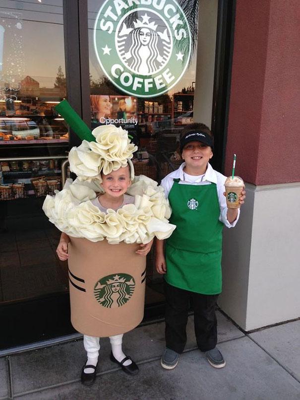Бариста и кофе Starbucks