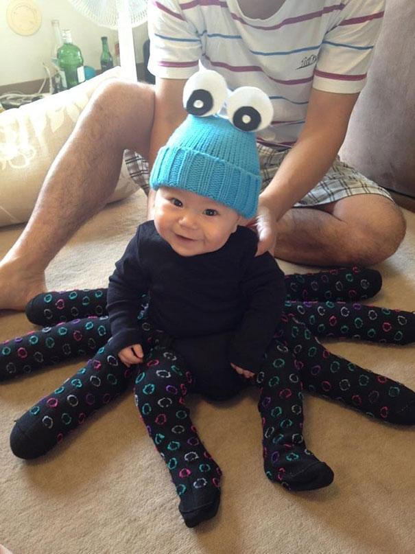 Детеныш осьминога