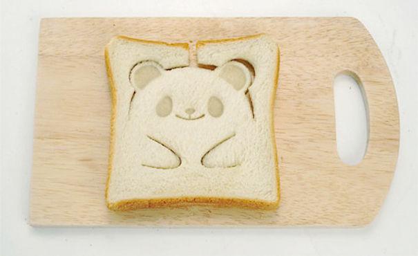 Тост-штамп в виде панды