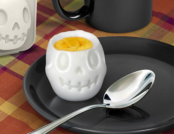 Форма для вареного яйца «Череп»