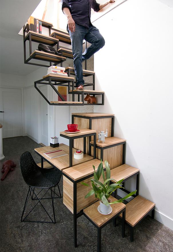 Лестница-рабочее место