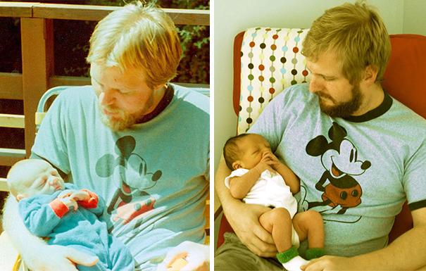 Отец и сын/Сын со своим сыном