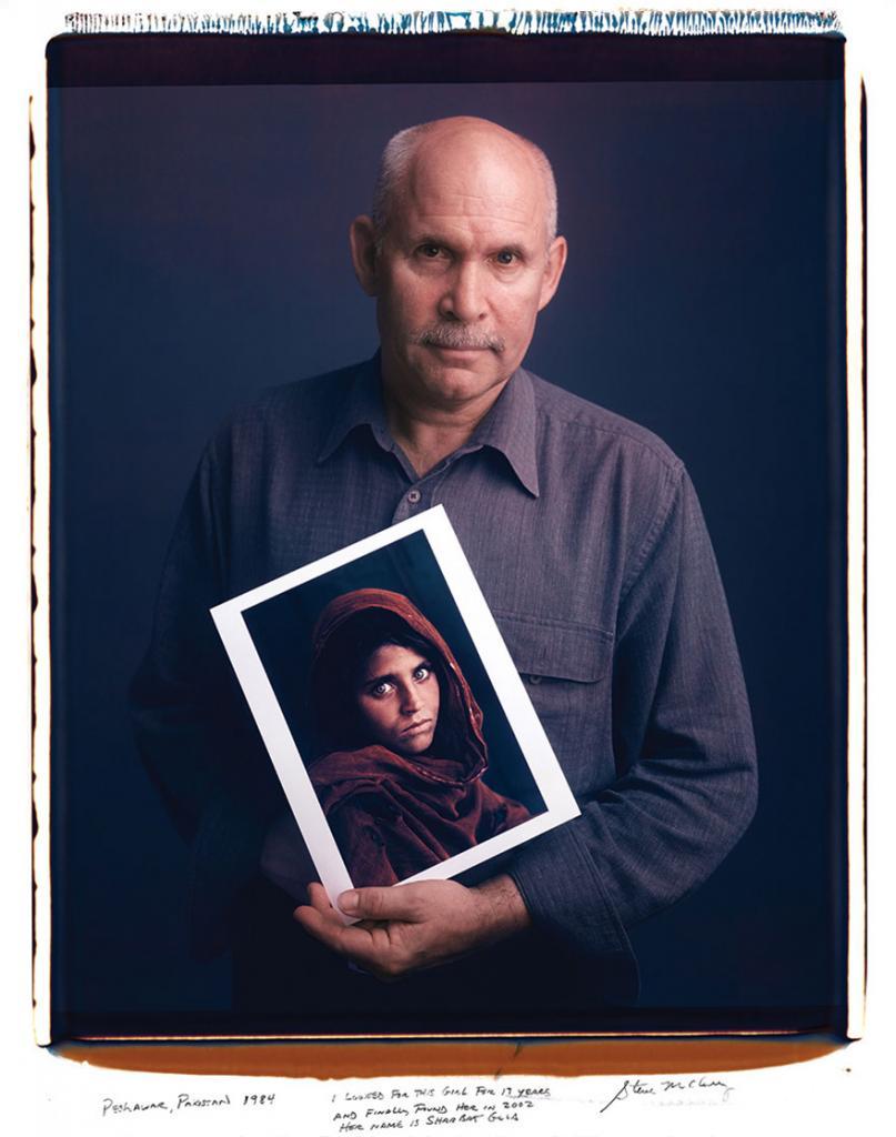 Стив Маккарри «Афганская женщина»