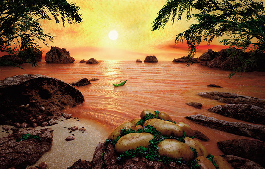 Лососевое море