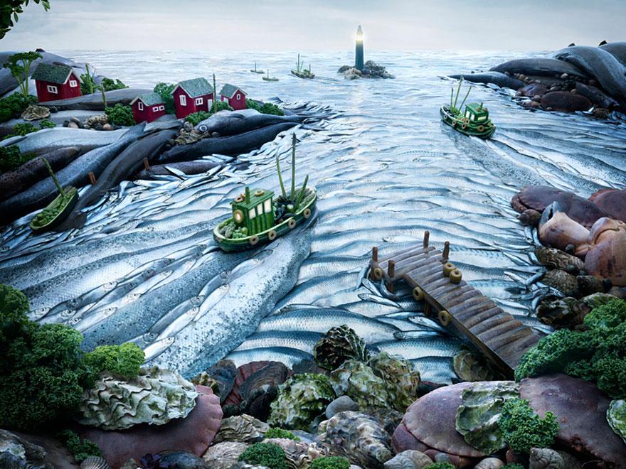 Рыбный пейзаж