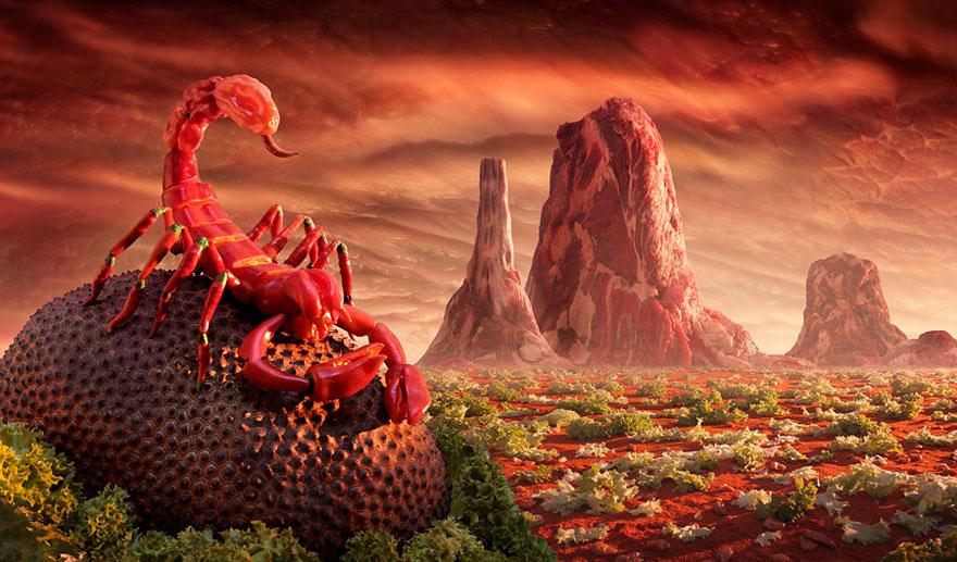 Чили-скорпион