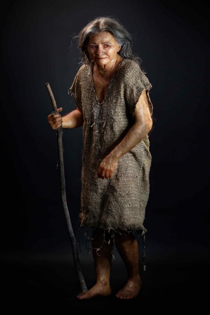 Женщина из Лас-Пальмас, чей внешний вид был реконструирован из останков 10 000-летней давности