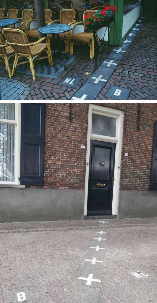 Граница Нидерландов и Бельгии