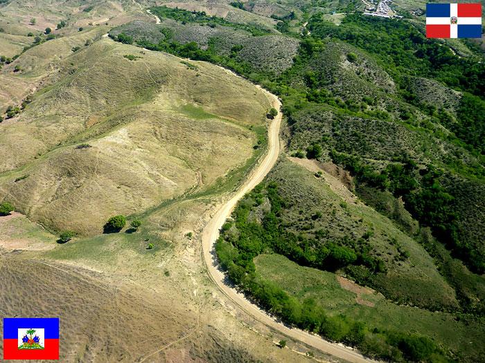 Граница между Гаити и Доминиканской Республики